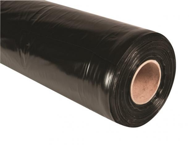 Black Polythene Sheeting - 260 Gauge