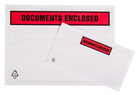 Document Enclosed Wallets Printed