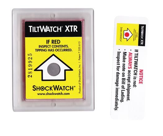 TiltWatch XTR Tilt Indicators