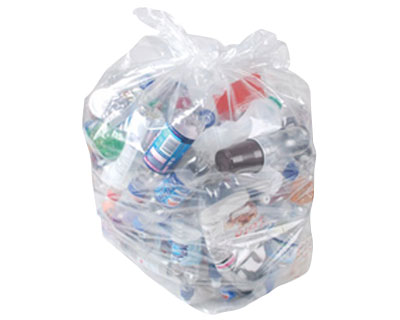Clear Recycling Sacks