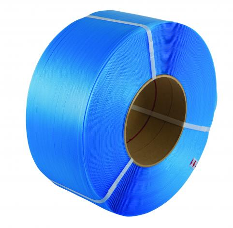 Polypropylene Hand Strapping on Cardboard Cores
