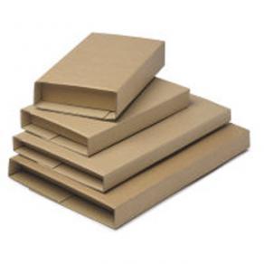 Cardboard Book Wrap Mailers