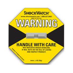 50 Yellow ShockWatch Impact Indicators